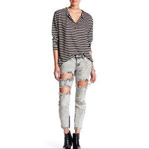 One Teaspoon Harley Freebirds Skinny Jeans